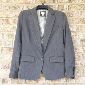 Jackets & Blazers - Grey One Button Blazer